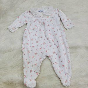 Ralph Lauren One Piece 3 6 Month 3m 6m Floral Whit